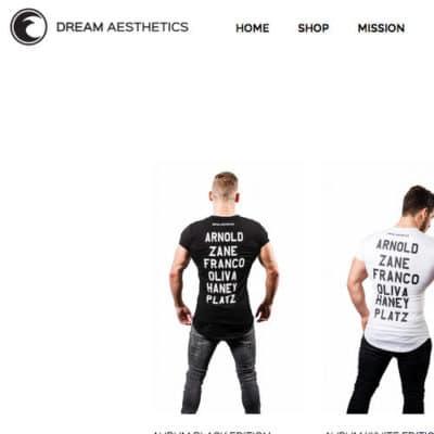 Dreahm Aesthetics erinnert an die Bodybuilder der goldenen Generation