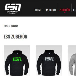 Gym Wear von ESN