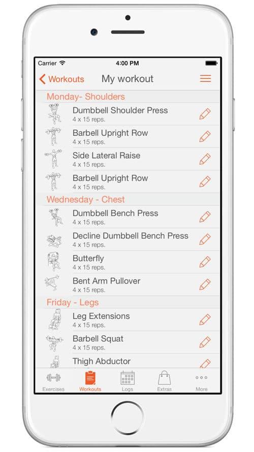 Erstelle dein eigenes Workout