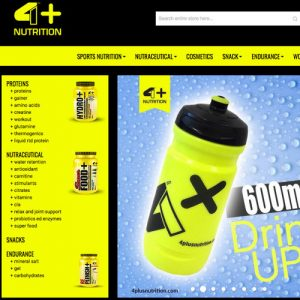 Gym Wear Shop 4+ Nutrition aus Italien