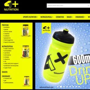 Gym Wear Shop 4+ Nutrition aus Italien