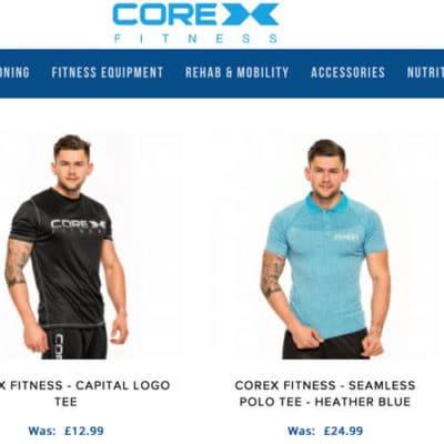 Core X Fitness ist eine britische Gym Wear Marke, die schlichte Bekleidung verkauft