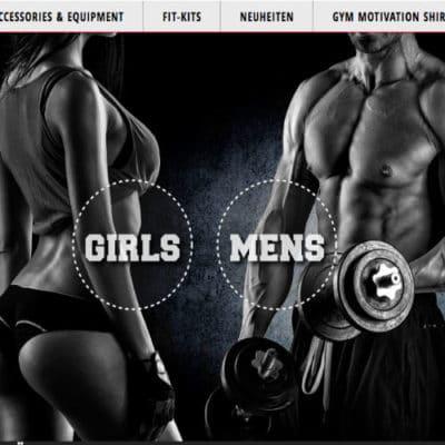 Coole Gym Wear mit coolen Sprüchen und geilen Mottos. Das ist die Modo von Iron Department