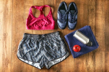 Vernünftige Sportbekleidung ist wichtig