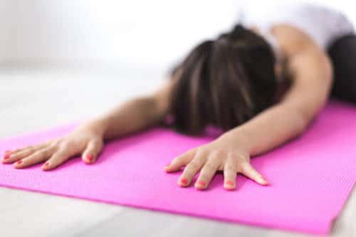 Yogakleidung Ausrüstung zum Dehnen